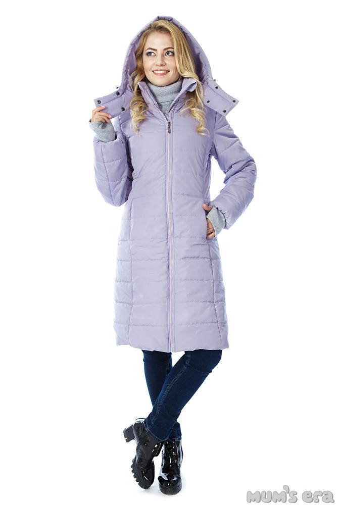 Слингокуртка зимняя Tepla 3в1, сиреневый