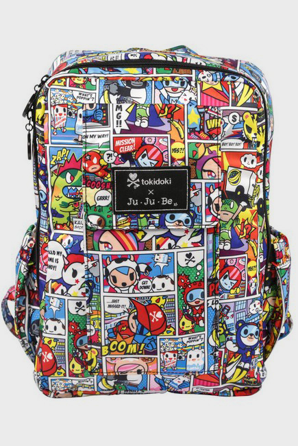 Рюкзак для мамы Ju-Ju-Be - Mini Be, Tokidoki Super Toki