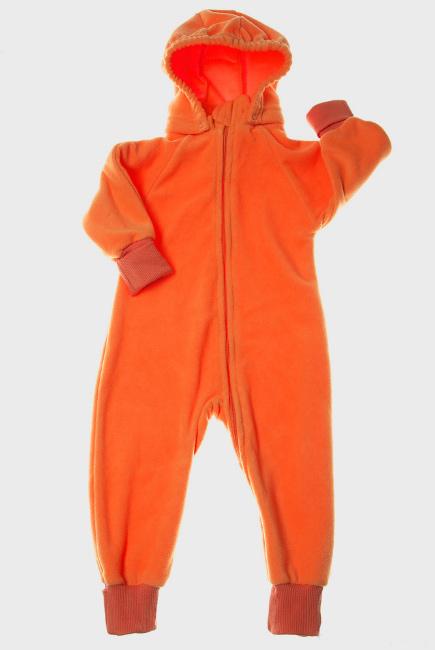 Слингокомбинезон флисовый (поддева) Comfort, оранжевый