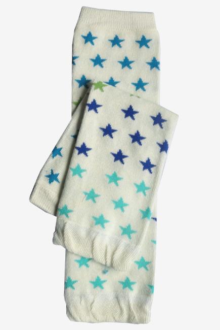 "Слингогетры (гетры для детей) ""Stars Blue Green"""