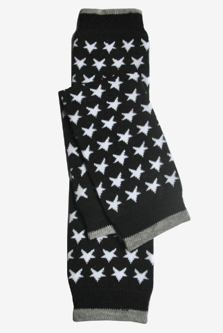 "Слингогетры (гетры для детей) ""Stars Black"""