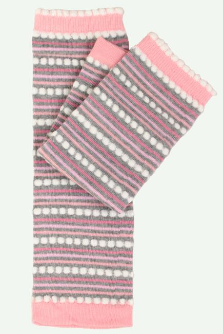 """Слингогетры (гетры для детей) """"Stripes Pink"""""""