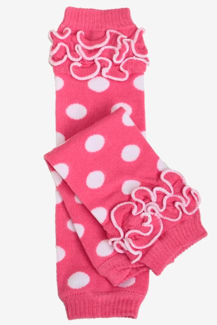 """Слингогетры (гетры для детей) """"Dots Pink"""""""