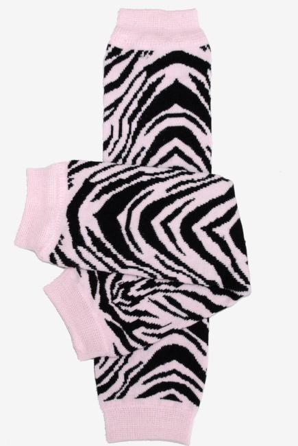 """Слингогетры (гетры для детей) """"Pink Zebra"""""""