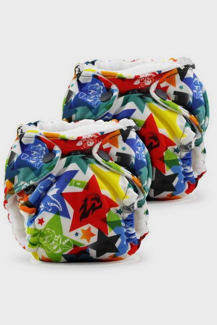 Многоразовые подгузники для новорожденных Lil Joey Kanga Care, Dragons Fly, 2шт.
