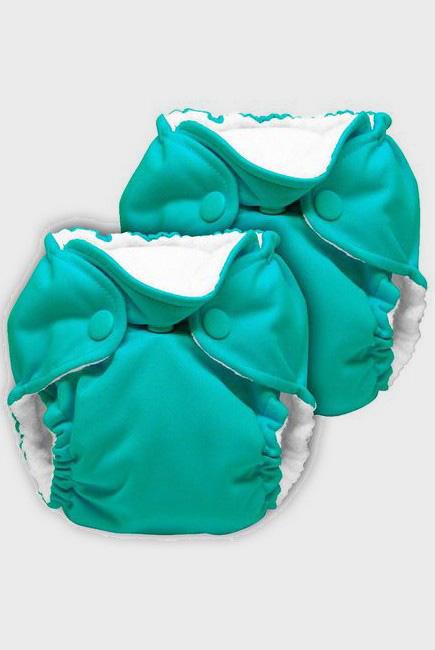 Многоразовые подгузники для новорожденных Lil Joey Kanga Care, Peacock, 2шт.