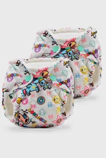 Многоразовые подгузники для новорожденных Lil Joey Kanga Care, TokiBambino, 2шт.