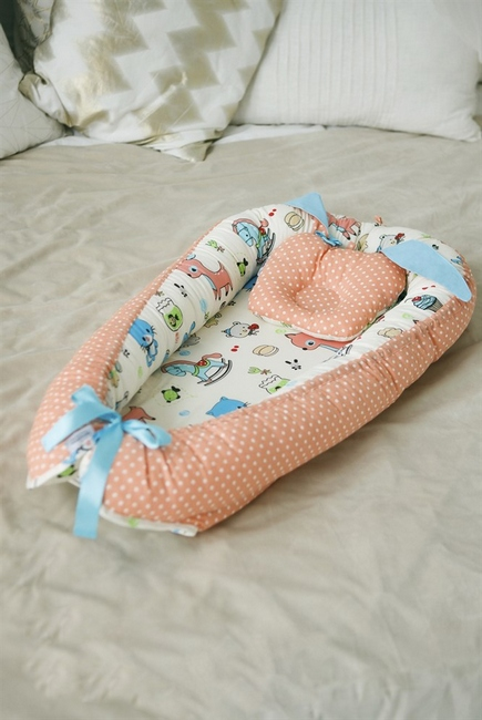 Гнездышко для новорожденных Babynest Toys