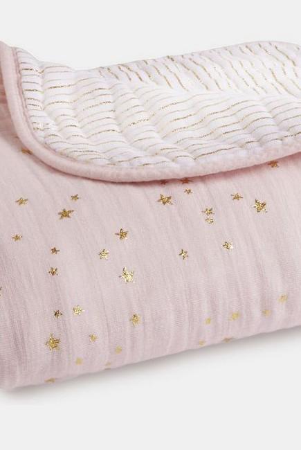 Муслиновое одеяло Aden&Anais, мерцающее, Metallic Primrose