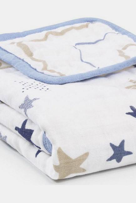 Муслиновое одеяло для коляски Aden&Anais, Stroller Blanket Rock Star