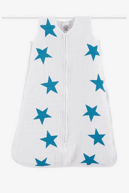 Aden&Anais спальный мешок Twinkle Brilliant Blue
