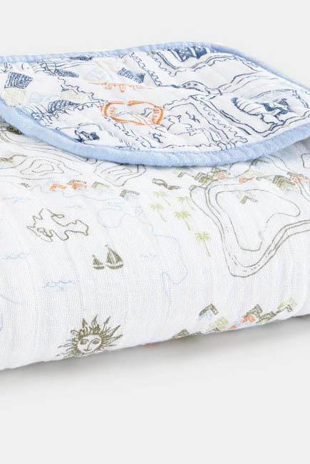 Муслиновое одеяло Aden&Anais органическое, Warrior Finn