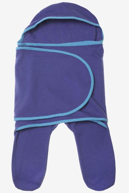 Пеленка-кокон для новорожденных (комбинезон-конверт), фьорд