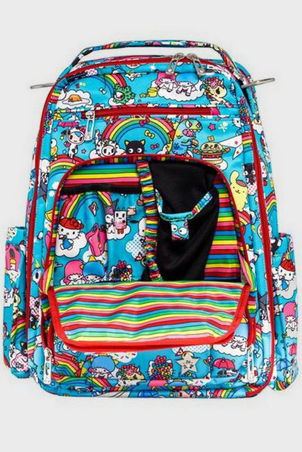 Рюкзак для мамы Ju-Ju-Be Be Right Back - Rainbow Dreams