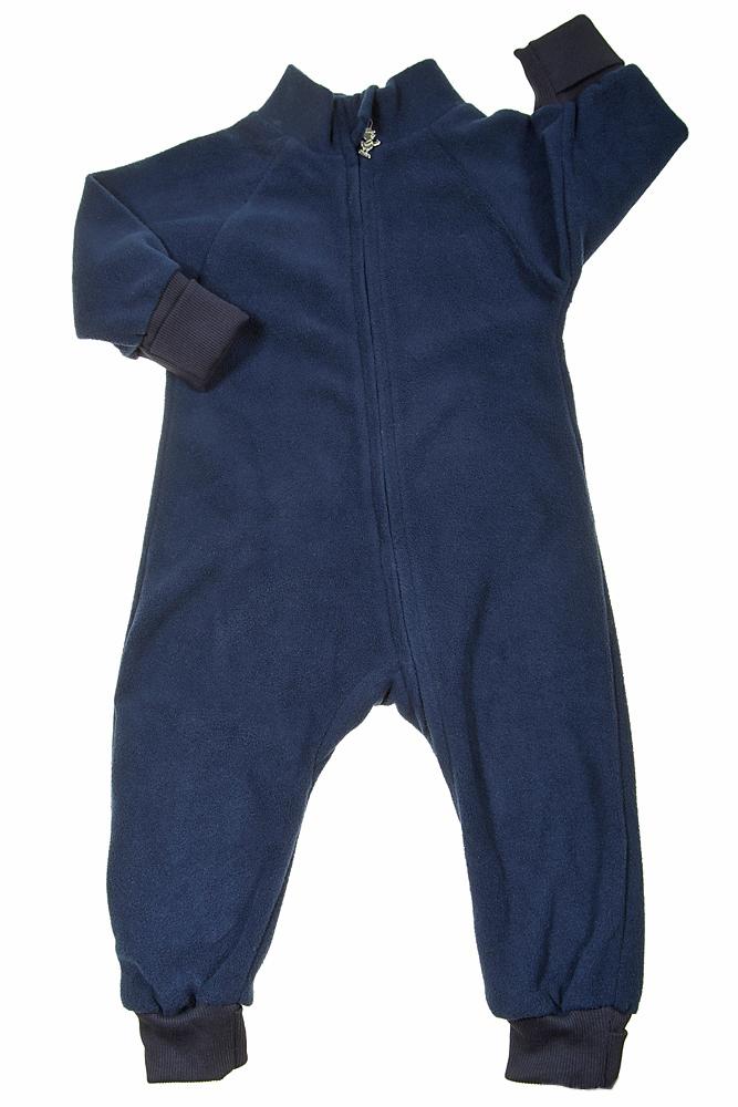 Флисовый комбинезон детский (поддева) Light, синий