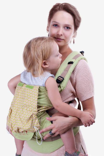 Эрго-рюкзак My Baby Style, зеленый
