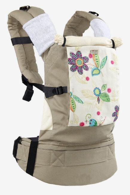 Эрго-рюкзак Classic, цветы