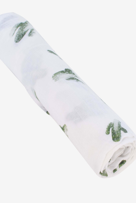 Бамбуковая пеленка для новорожденных Bebe Au Lait, Saguaro Blend