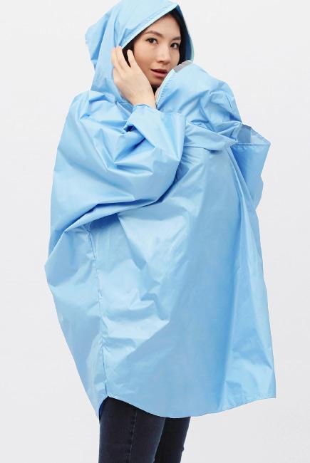 Слингодождевик голубой