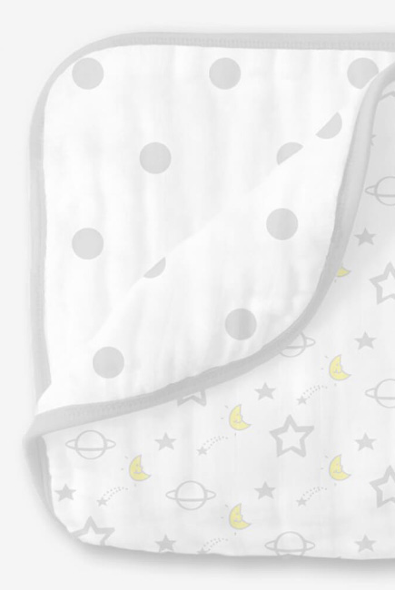 Одеяло из муслина SwaddleDesigns, Little Ships Sterling