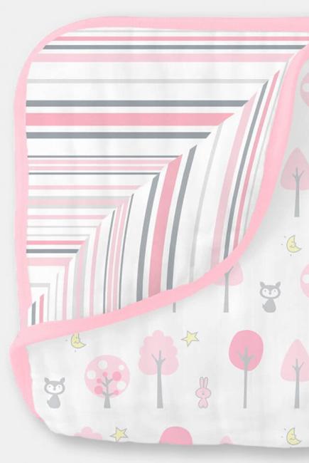 Одеяло из муслина SwaddleDesigns, цвет Pink Thicket