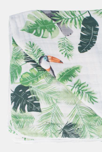 Одеяло муслиновое Bebe au Lait, Rio and Palms