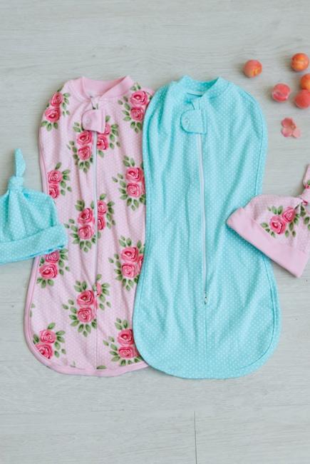 Комплект пеленок-коконов для новорожденных, Soloha