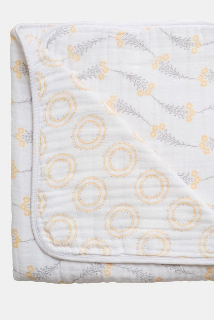 Муслиновое одеяло Bebe au Lait, Wildflower and Halo