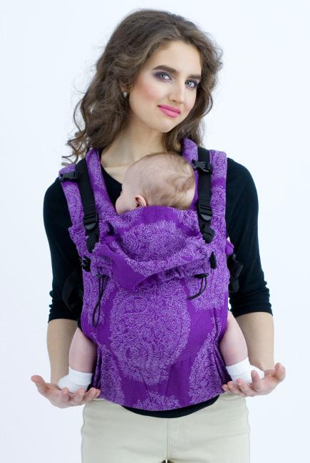 Эрго-рюкзак Diva Essenza Viola Linen One!
