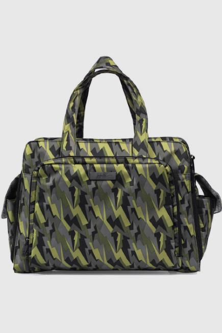 Дорожная сумка для мамы Ju-Ju-Be Be Prepared Black Lightning