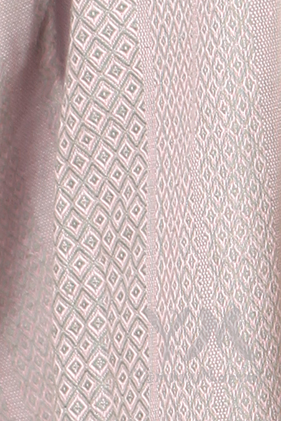 """Слинг с кольцами YammyMammy (ямимами), цвет """"серый/розовый"""""""