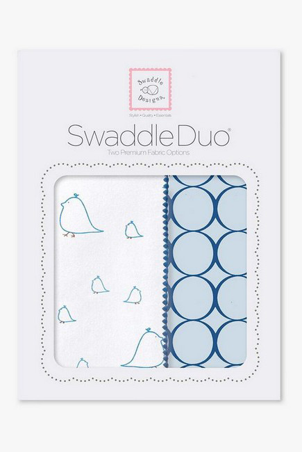 Набор пеленок SwaddleDesigns Swaddle Duo BL Big Chickies