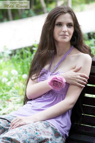 """Топ для кормления Milk Rivers """"Angelina's Voyage"""", лиловый жемчуг"""