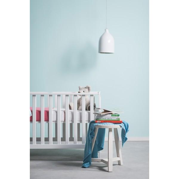 """Jollein вязаный плед для новорожденных (косичка), цвет """"нефритовый"""""""