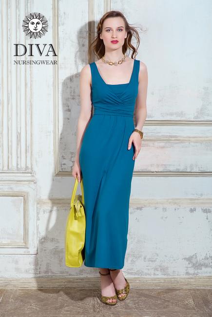Сарафан для кормящих и беременных Diva Nursingwear Alba Maxi, Notte
