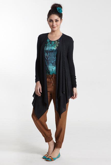 Кардиган для кормления Sangha Knitted, серый (Heather Charcoal)