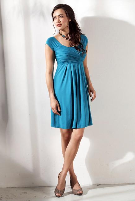 """Платье Mothers en Vogue """"Lola Mae"""", цвет бирюзовый"""