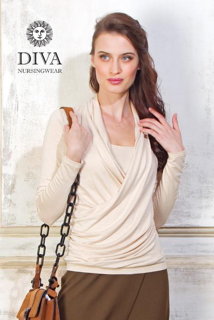 Топ для кормящих и беременных Diva Nursingwear Denila, Grano