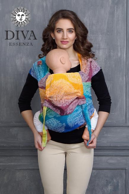 Май-слинг Diva Essenza Tropico, размер Toddler