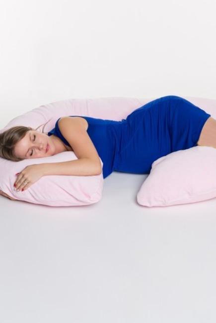 "Подушка для беременных ""Рогалик"", длина M (340см)"