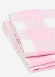 """Jollein байковый плед для новорожденных, цвет """"Check pink"""""""