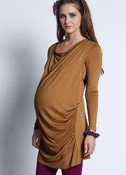 Топы и туники для беременных с длинными рукавами