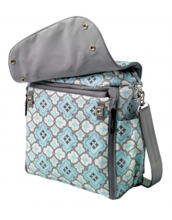 Boxy Backpack: Classically Crete