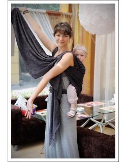Слинг-шарф Ellevill Paisley Silver
