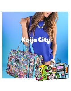 Дорожная сумка для мамы или сумка для двойни Ju-Ju-Be Be Prepared, Tokidoki Kaiju City