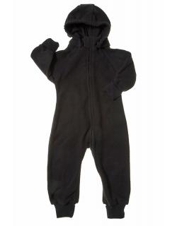 Флисовая поддева (комбинезон) Comfort, черный