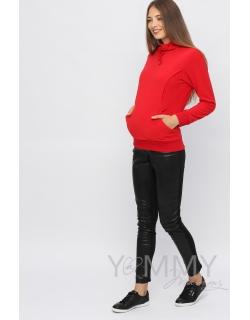 """Толстовка YammyMammy (yummy mummy) флисовая, цвет """"красный"""""""