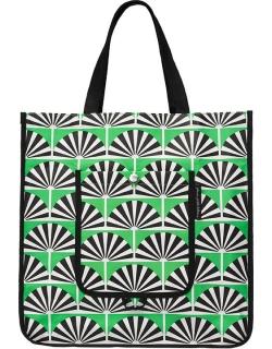 Экосумка Petunia Shopper Tote: Playful Palm Springs
