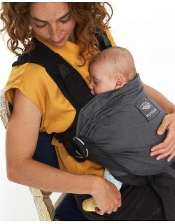 Эрго-рюкзак Manduca Duo, цвет серый (grey)