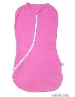 Пеленка-кокон для новорожденных трикотажный, камелия